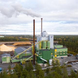 Kokkolan Energian voimalaitos. Kuva: Kokkolan Energia